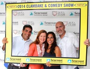 Pictured Left to Right: Board President RJ Ferraro, Nina Ferraro, Gina Coulter, David Coulter