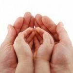 little hands in big hands